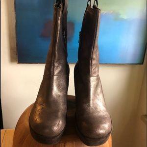 Kork-Ease Avis metallic bronze boots